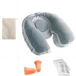 Going In Style Super Snoozer Inflatable Travel Neck Pillow w