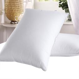 Goose Down Pillows 600 Thread Count Soft Neck Support Pillow