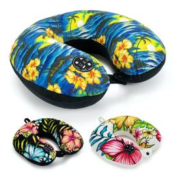Maui & Sons Hawaiian Memory Foam Travel Neck Pillow