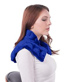 Heated Microwaveable Neck and Shoulder Wrap - Herbal Hot/Col