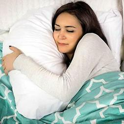 DMI Hugg-A-Pillow Hypoallergenic Bed Pillow - Contoured Neck