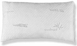 Hypoallergenic Bamboo Pillow - Shredded Memory Foam With Koo