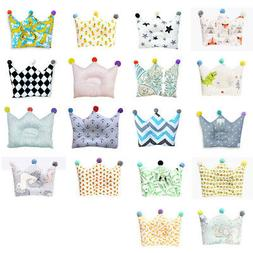 Infant Baby Kid Soft Pillow Anti-Roll Memory Foam Positioner