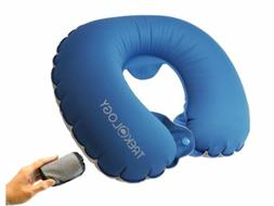 Trekology Inflatable Neck Pillow Travel Airplane Pillow - Co