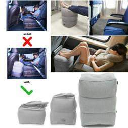Inflatable Office Travel Footrest Leg Foot Rest Cushion Pill