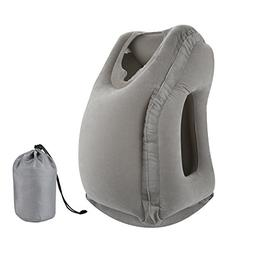Letite Travel Inflatable Pillow, Ergonomic and Portable Head
