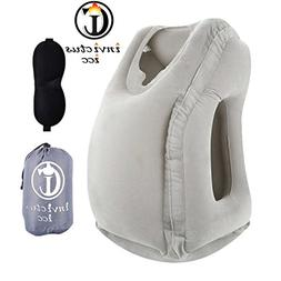 INVICTUS Inflatable Travel Pillow,Ergonomic And Portable Hea