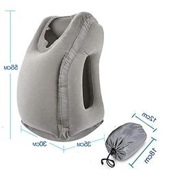 Inflatable Travel Pillow Sleep Aid Airplane Pillow Portable