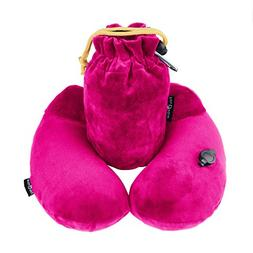 INFLATABLE TRAVEL PILLOW - Contour U-Shaped Neck Support - B