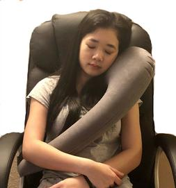 Inflatable Travel Pillow for Airplanes, Cars, Bus