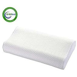 Iyee Bed Pillows Nature Memory Foam Adjustable For Neck Pain
