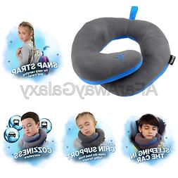 kids chin supporting travel pillow keeps