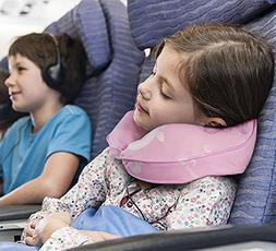 Restcloud Kids Travel Neck Pillow for Airplane, Head and Nec