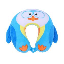 Kids Travel Neck Pillow Animal U-Shape Polyester Head Suppor