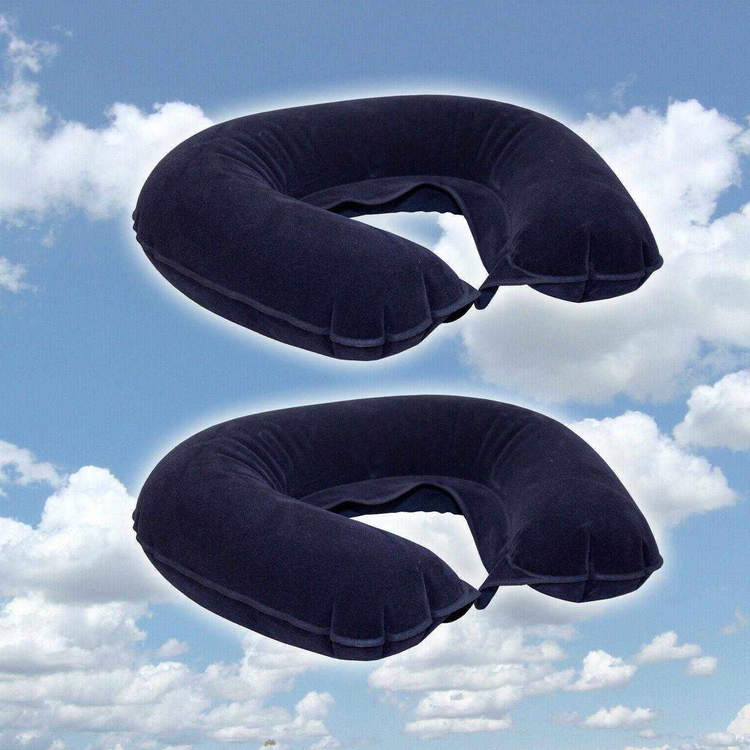 2 Travel Neck Pillow Head Velvet