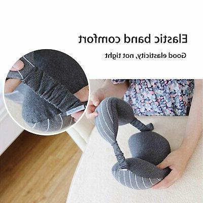 2in 1 Neck Mask Soft Cushion Nap for Travel