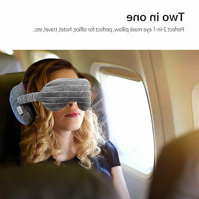 2in 1 Travel Neck Mask Cushion Nap Travel