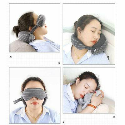 2in Neck pillow Mask Soft Cushion Nap