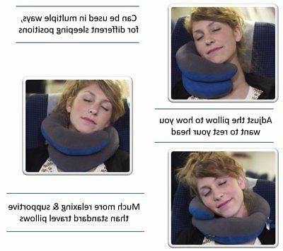 BCOZZY Chin Support Travel Pillow Head, Neck &