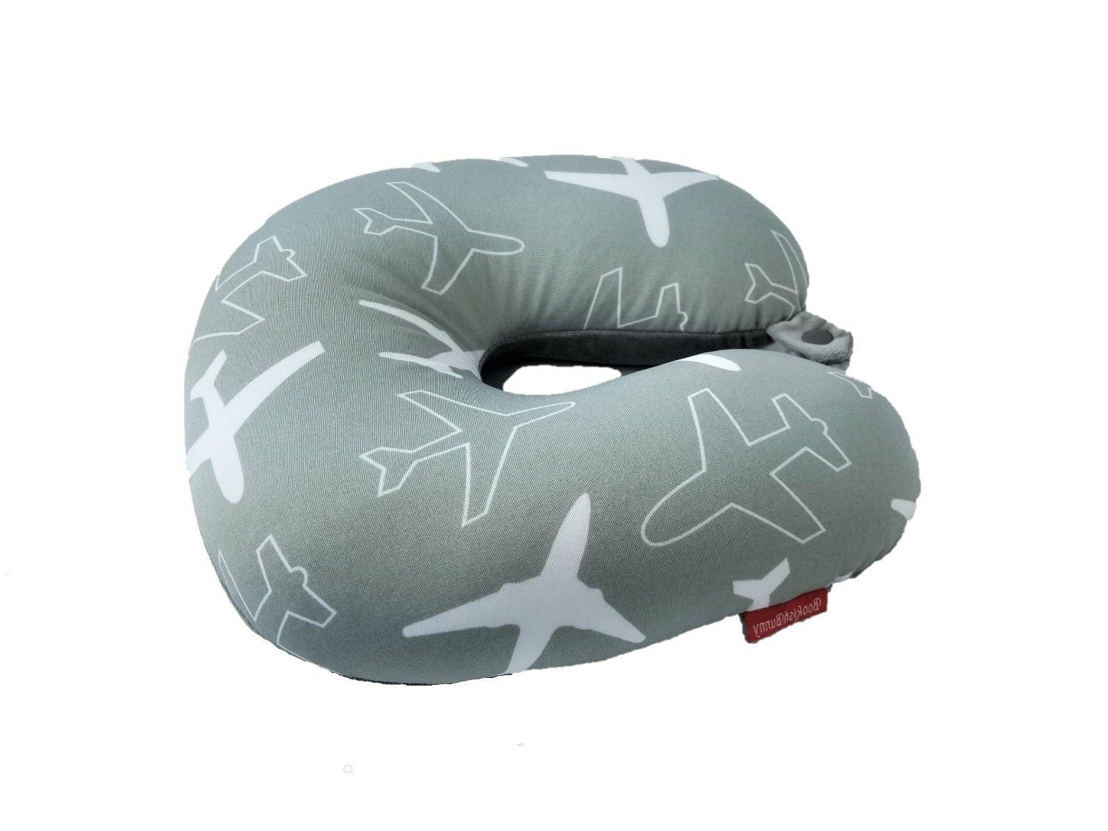New 2018 U Micro-Bead Travel Pillow Neck Support Gray