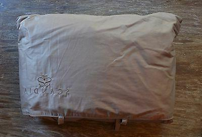 Scandia Home Down Filled Travel Attache Pillow Comforter Coc