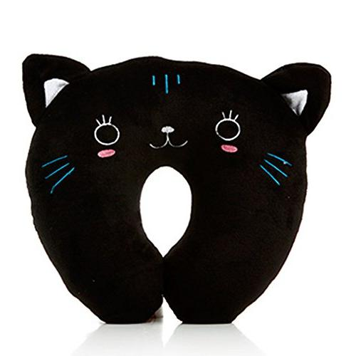 Travel Pillow, Cotton U-Shaped Neck Pillow for Travelling Or