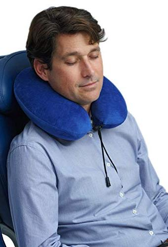 Travelrest - Memory Foam Neck Pillow Cover Luggage To Neck Head