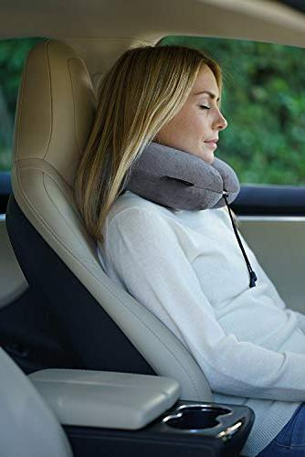Travelrest Foam & Neck Pillow Washable Cover to Luggage To Neck Head