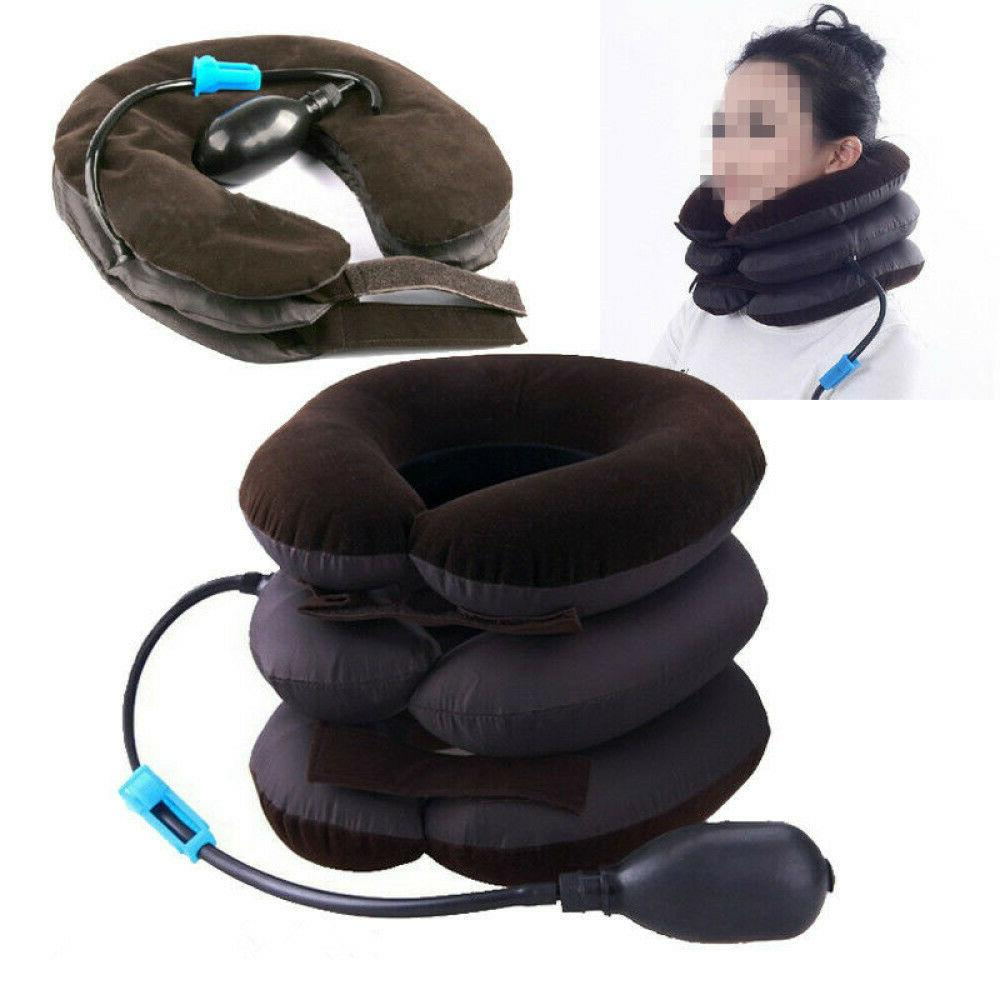 Air Inflatable Cervical Head Relief Therapy