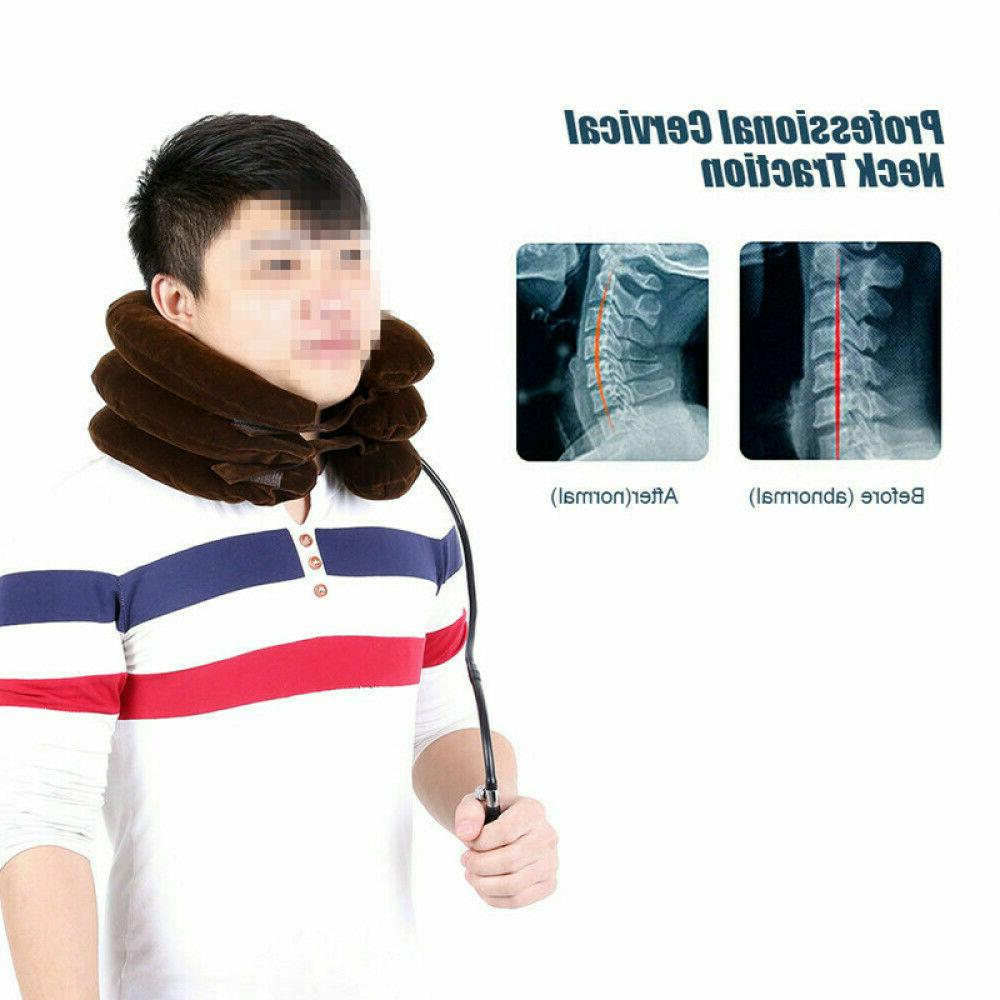 Air Inflatable Neck Cervical Traction Relief Therapy