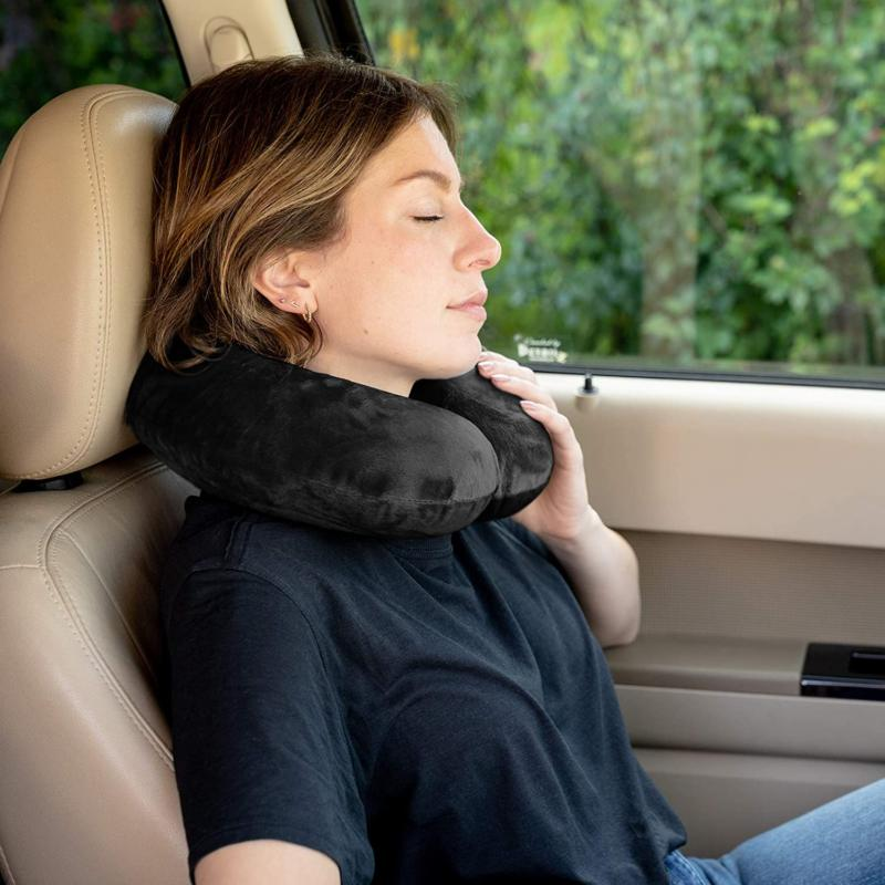 Crafty Airplane Neck Pillow Memory Adjustable