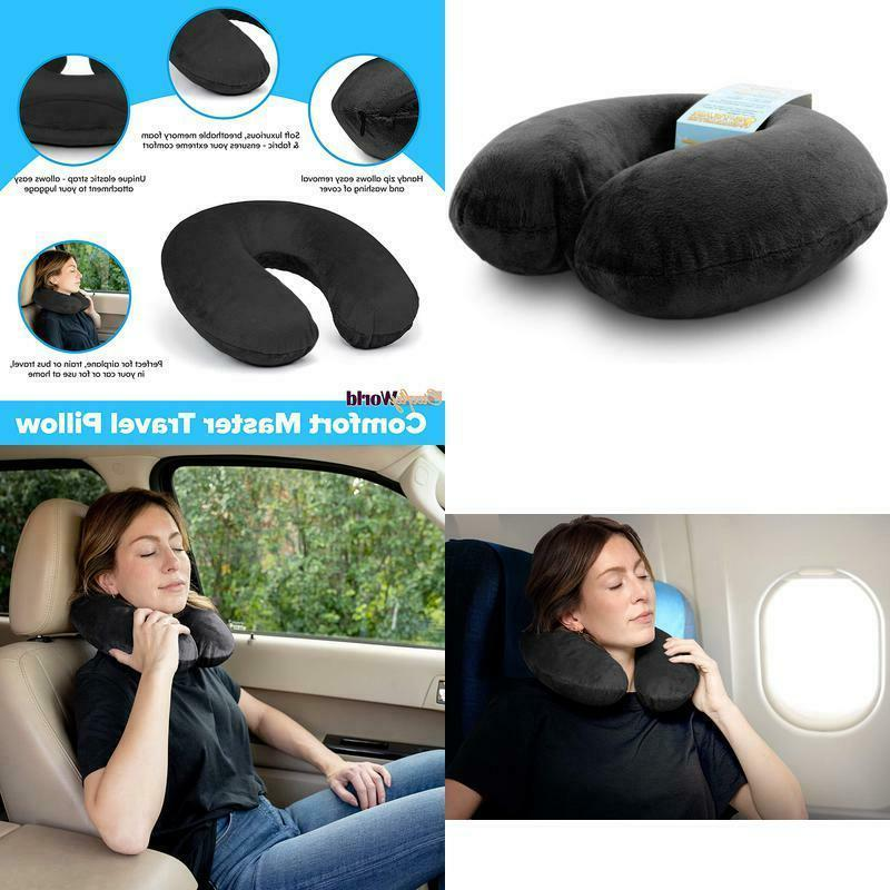 airplane neck pillow for traveling memory foam