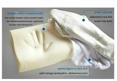 Bamboo Memory Foam for Back Relief