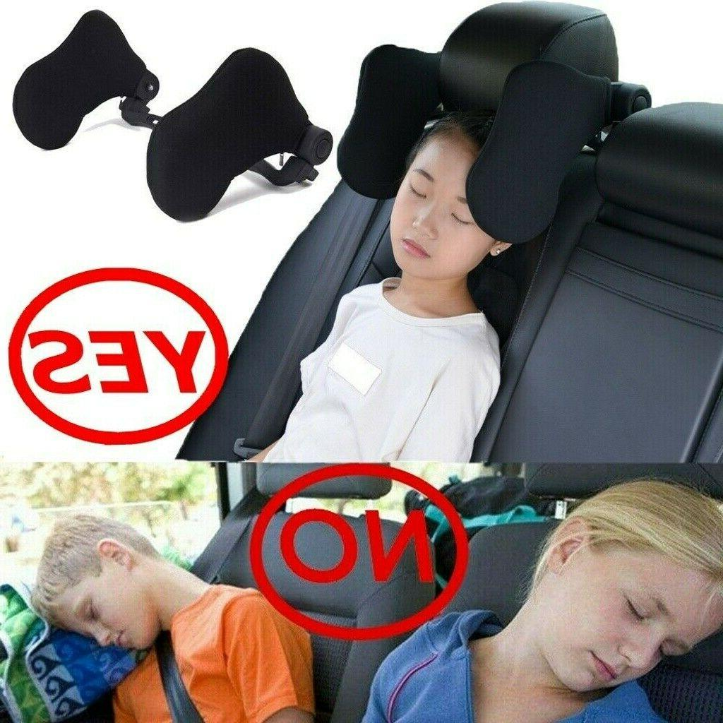 Car Seat Headrest Pillow Support Nap Side Pad US