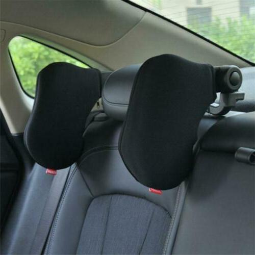 Car Seat Pillow Neck Headrest Travel Adjustable Side Support
