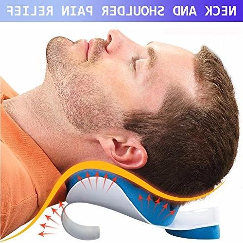 Cervical Pillow Shoulder Traction Device