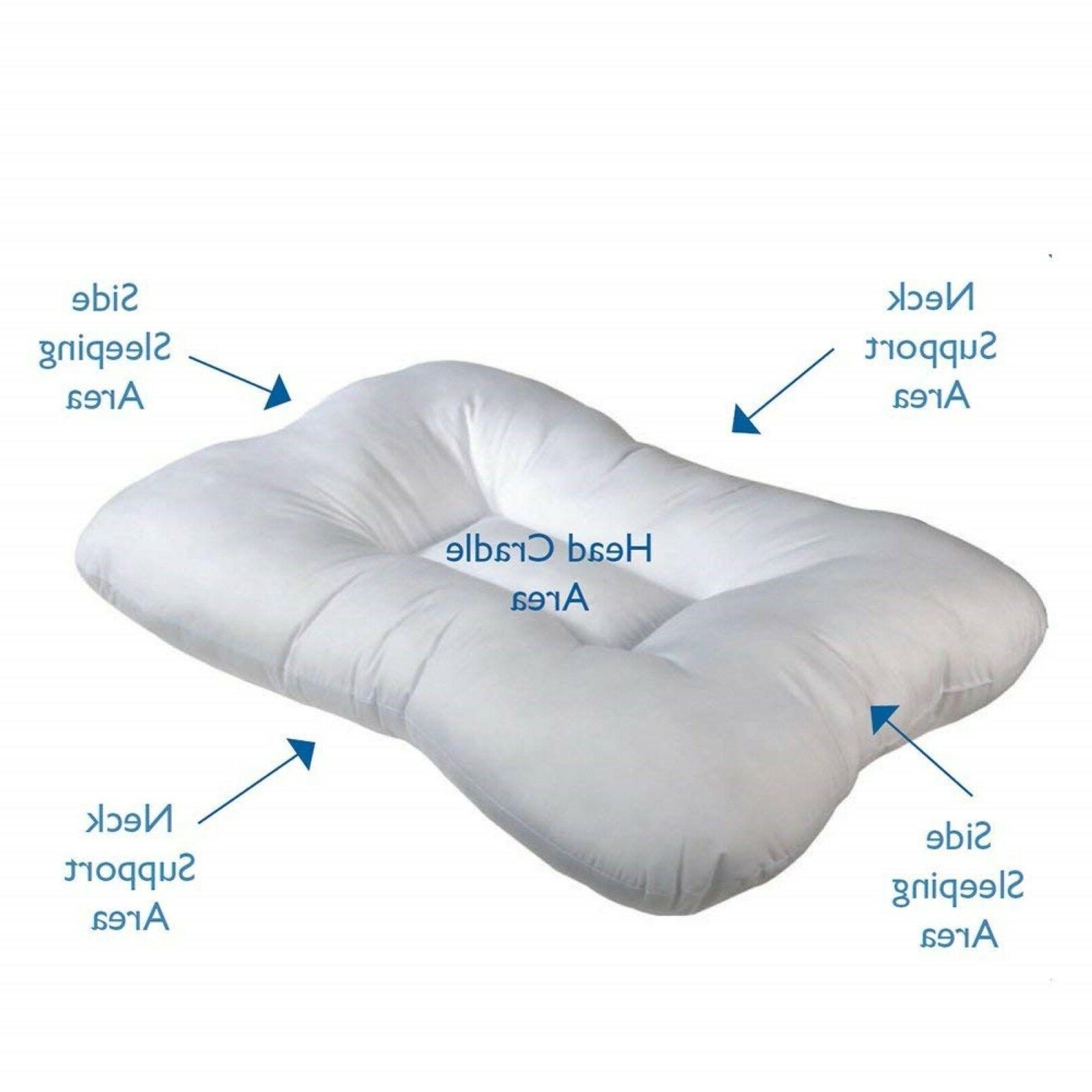 Cervical Pillow Orthopedic Core Medical Therapeutic Sleeping