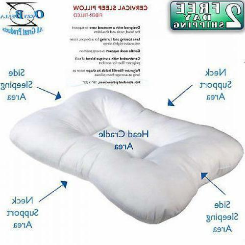 Cervical Pillow Orthopedic Tri Core Medical Therapeutic Slee