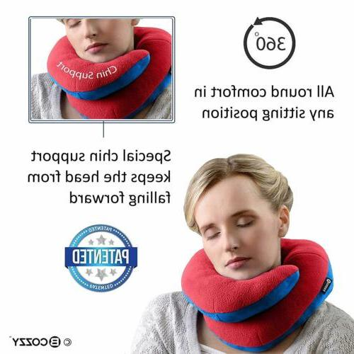 BCOZZY Chin Travel Pillow for