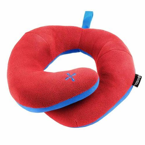 chin supporting patented travel pillow comfort