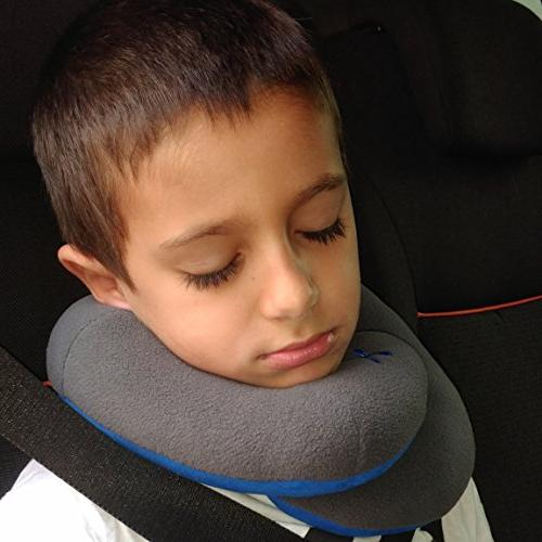 BCOZZY Kids Chin Travel Pillow - Supports Head, Chin in A Product.