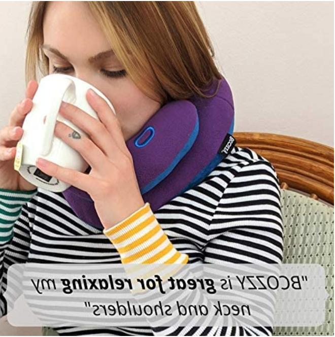 BCOZZY Neck Pillow - Traveling Comfortable Sleep