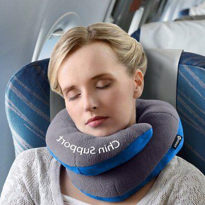 BCOZZY Chin Neck Pillow - Supports the Head, Chin in