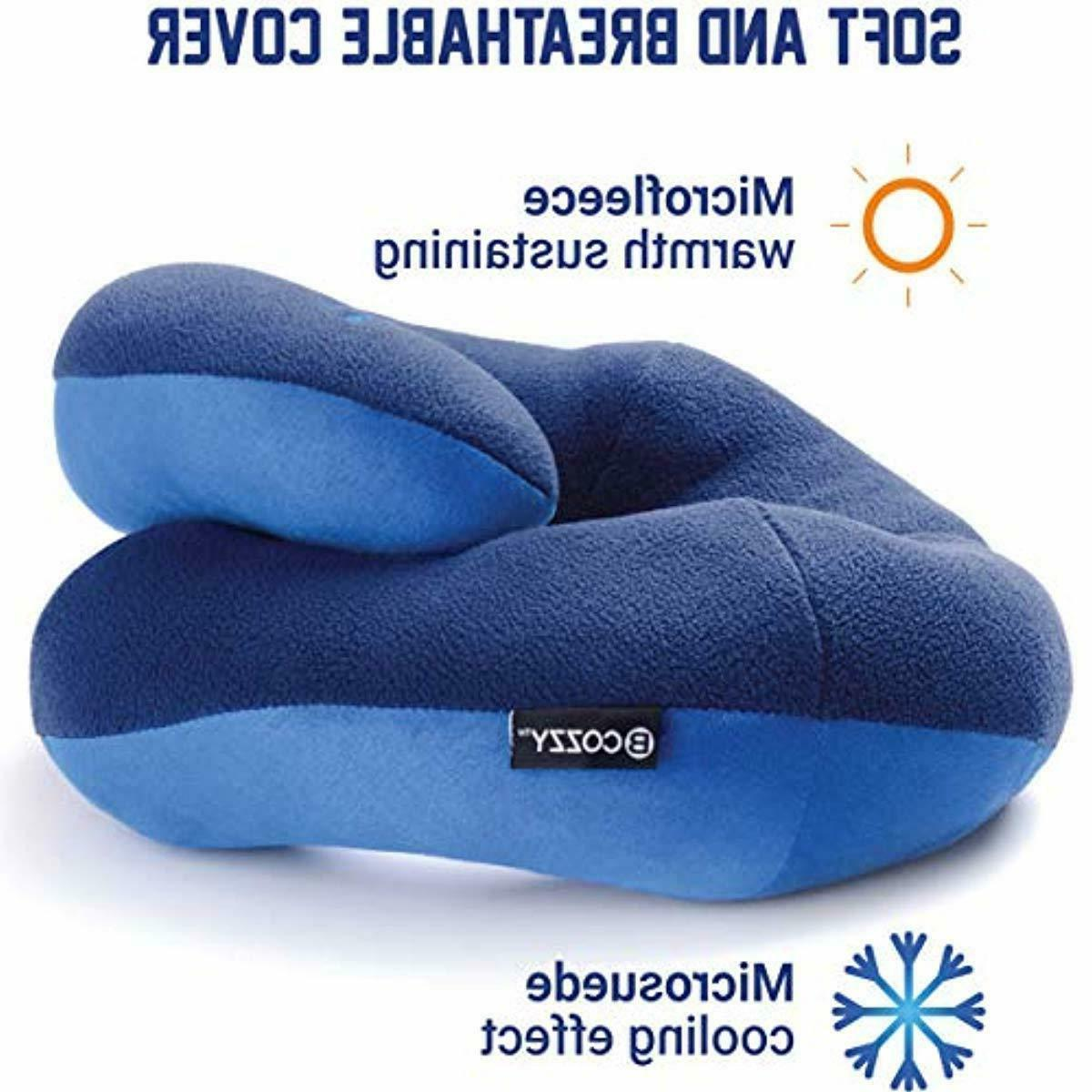 BCOZZY Travel Pillow- Keeps Head from Falling Forward Comf