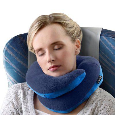 BCOZZY Chin Supporting Travel Pillow - Supports the Head, Ne