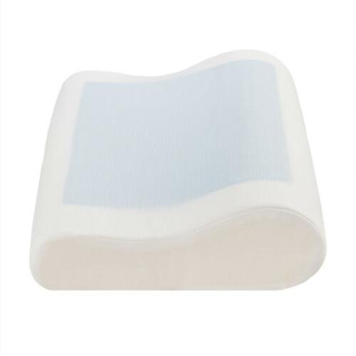 Ventilated Memory Foam Pillow For Neck Pain w/ Cooling Conto