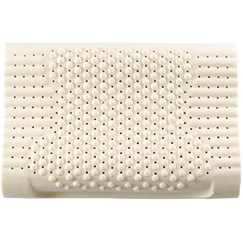 Cheer Contoured Latex Pillow Pillow with Bamboo Cover
