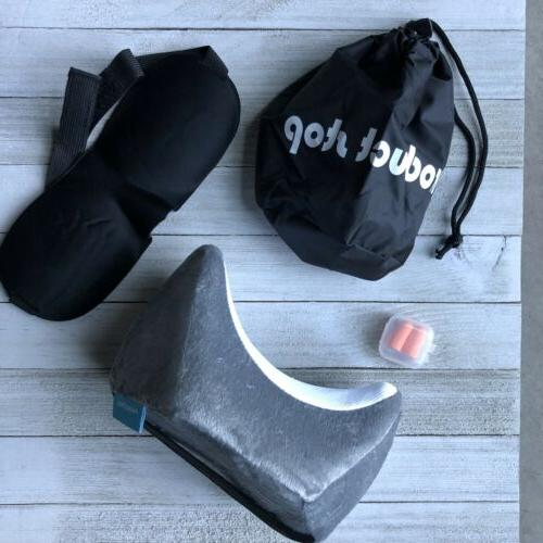 cooling gel memory foam neck and travel