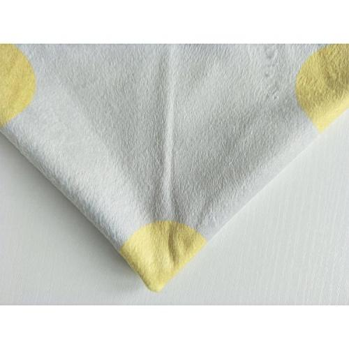 ALAZA Yellow Sunflower and Dandelion Cotton Velvet x 16 Slip Decorative