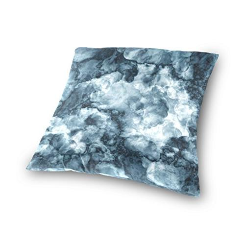 ALAZA Sided Old Colored Pattern Marble Stone Texture Cotton Velvet Cover Covers 16 16 Inch Pillow Slip Covers Decorative